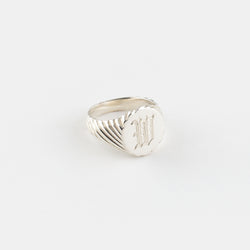 Sterling Silver Julius Signet Ring