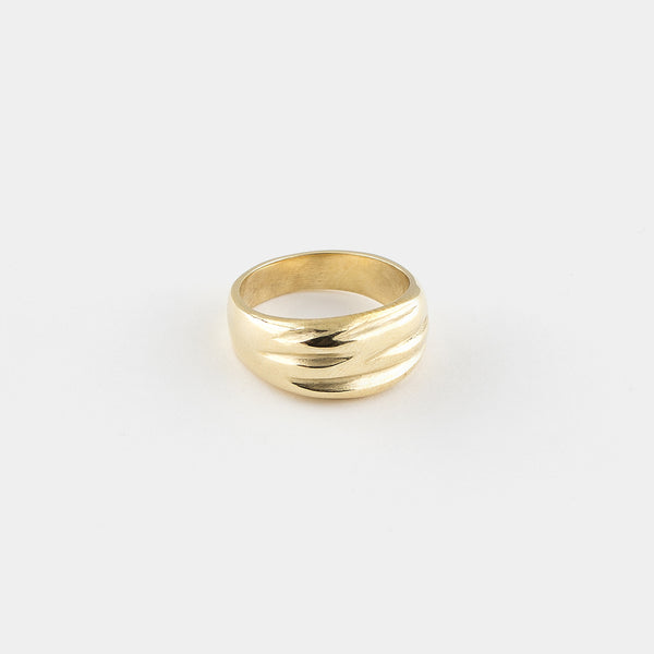 "Gold ""Le Chemin"" Ring"