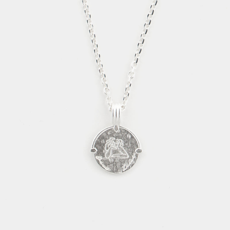 Leo Necklace in Silver