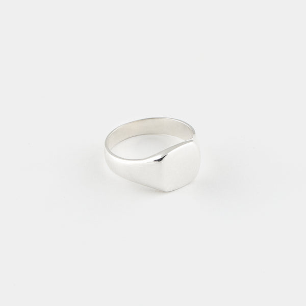 Sterling Silver Luis Signet Ring