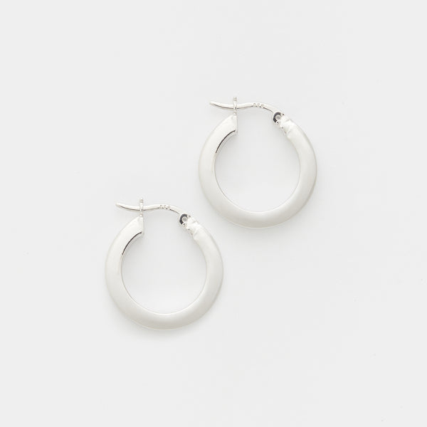 Karen Hoops in Sterling Silver