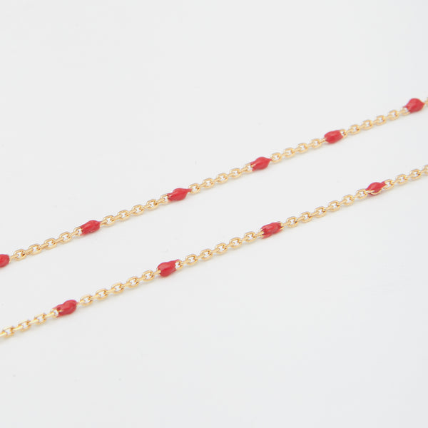 Condesa Necklace in Red