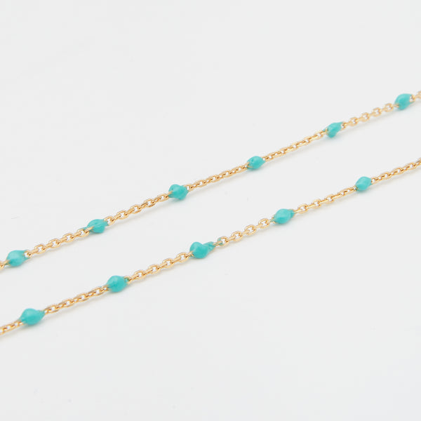 Condesa Necklace in Turquoise