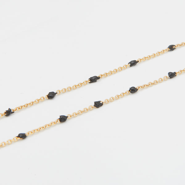 Condesa Necklace in Black