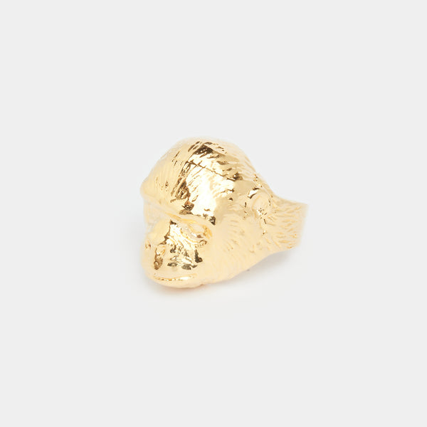 Gold Gorilla Ring in Gold