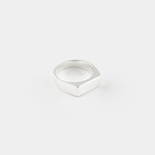 Sterling Silver Malboro Pinky Ring