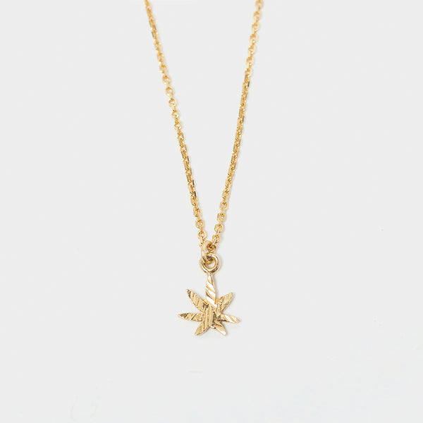 Mary Jane Choker Necklace in Gold
