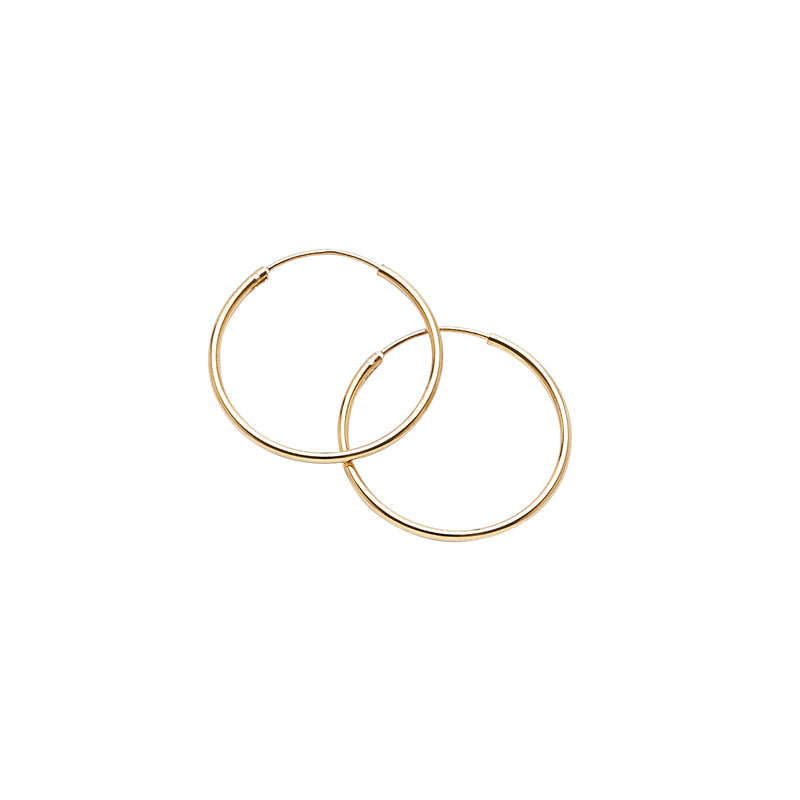 Gold Vermeil Hoops