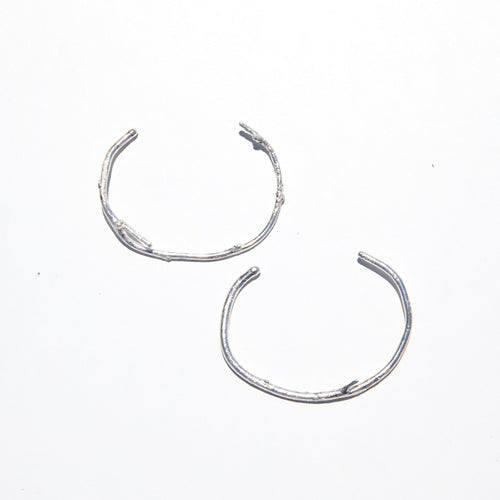 Sterling Silver Branch Cuffs