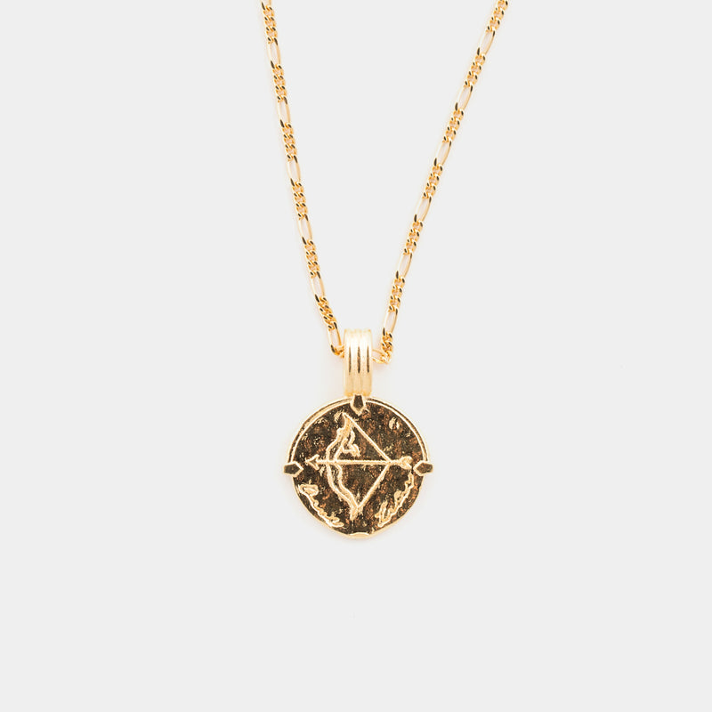 Sagittarius Necklace in Gold