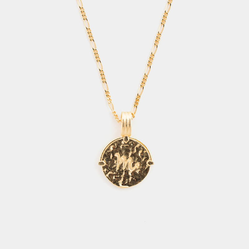 Scorpio Necklace in Gold