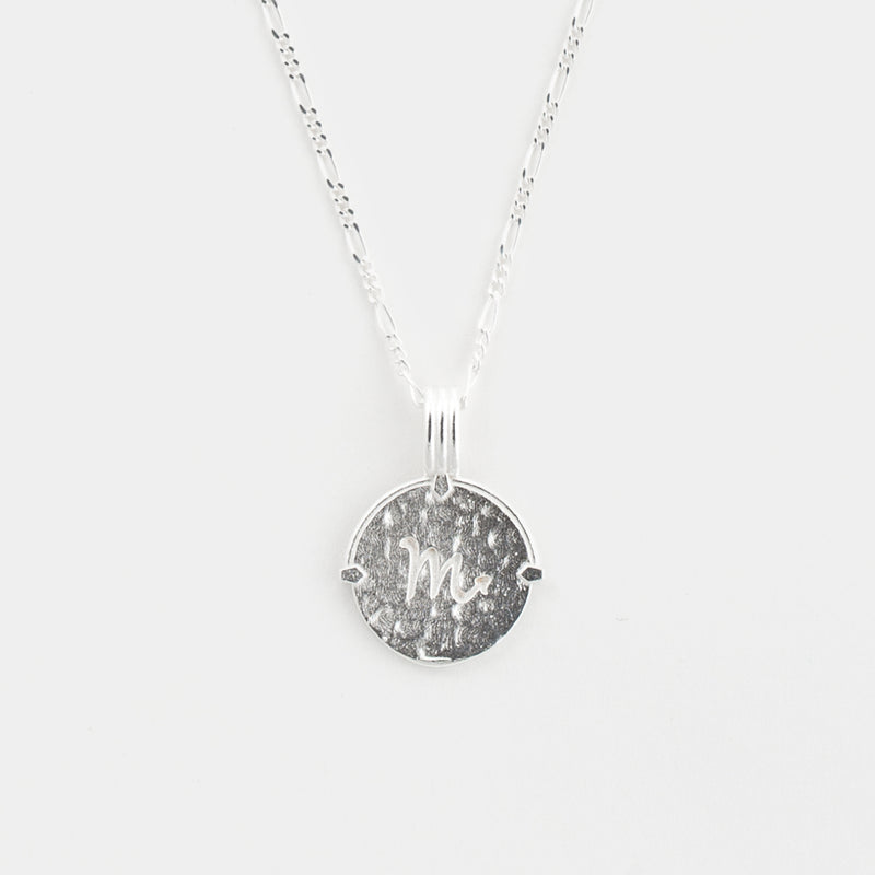 Scorpio Necklace in Silver