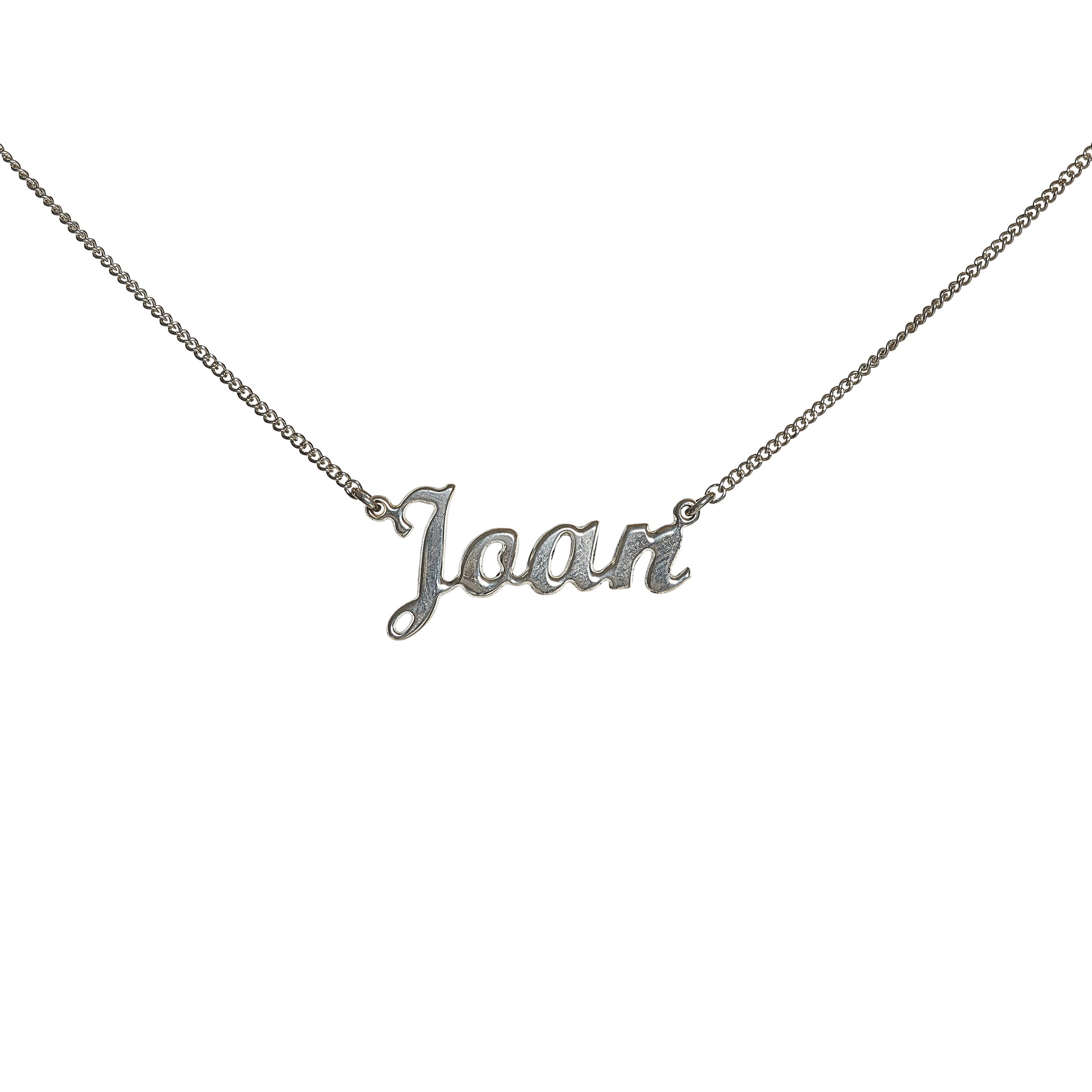 Custom Handcrafted Nameplate Necklace