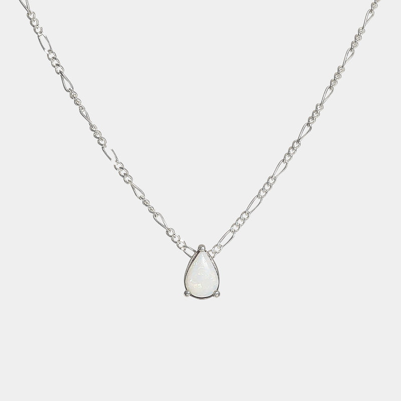 Katie Opal Teardrop Necklace