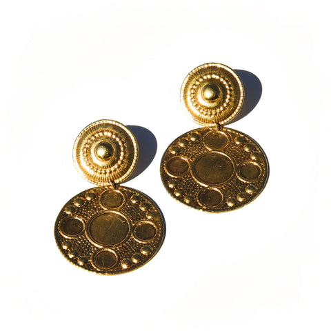 Lolita Earrings in 14k Gold Vermeil