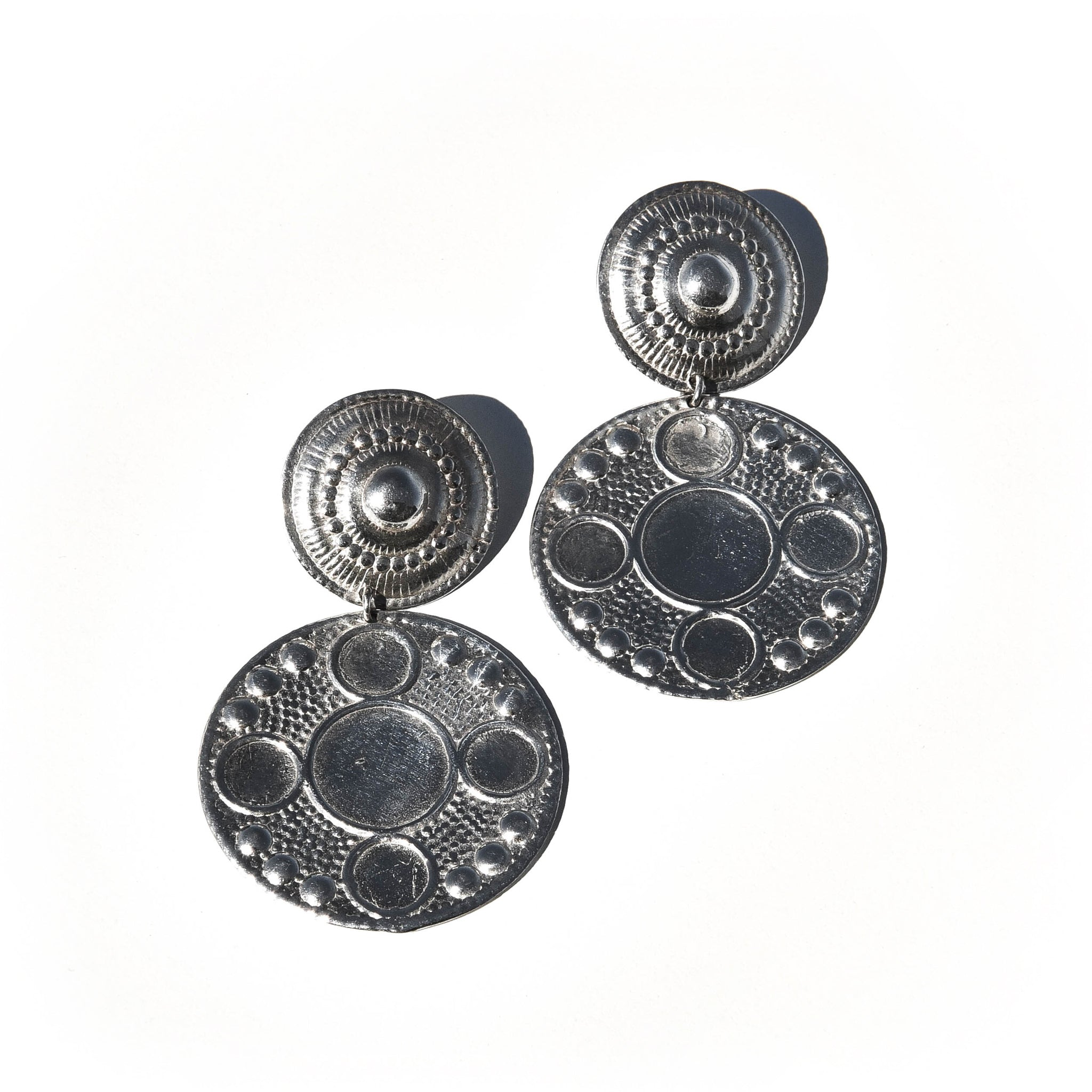 Sofia Earrings in Sterling Silver