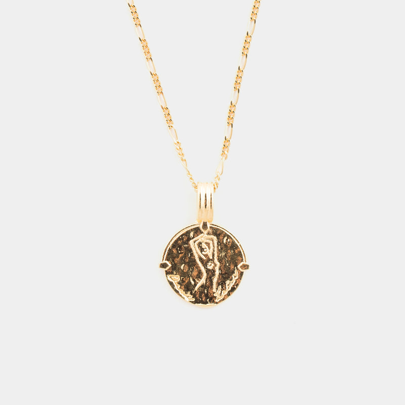 Zodiac Necklace in Gold
