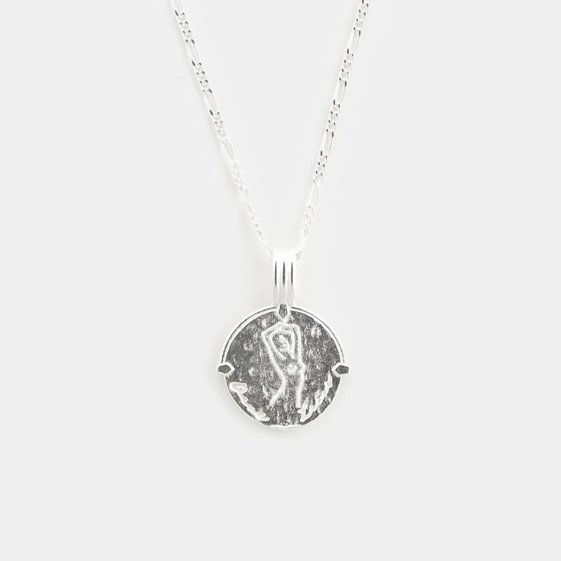 Taurus Necklace in Silver