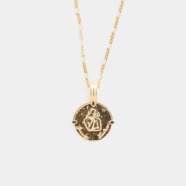 Virgo Necklace in Gold