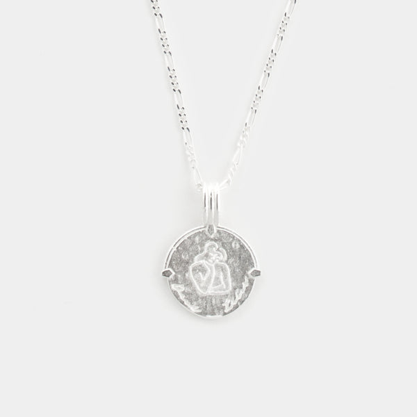 Virgo Necklace in Silver