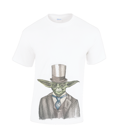 Gildan Heavy Cotton T-Shirt yoda sir yodington