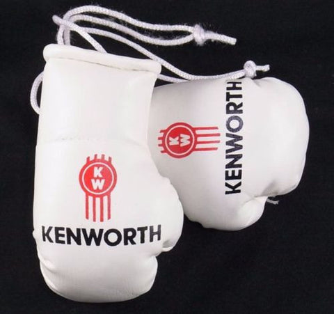 Kenworth Trucks Mini Boxing gloves (collectable) Car Rear View Mirror Gift Bday