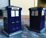 Salt And Pepper Tardis Police Box Phone Box Dr Who Set Of 2
