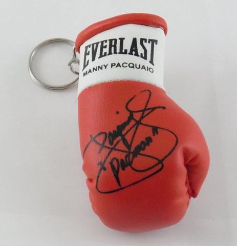 Manny Pacquiao Mini Boxing Gloves for rear view mirror Gift Xmas