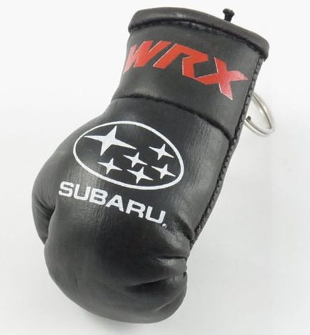 Subaru WRX Mini Boxing Glove Keyring Perfect Gift! Great Quality