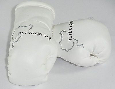 Nurburgring  Mini Boxing Gloves (ideal for your rear view mirror)