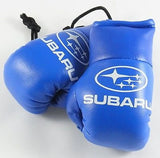 Subaru Blue Mini Boxing Gloves