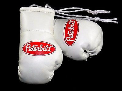 Peterbilt Trucks mini boxing gloves ideal for windscreen (a pair)