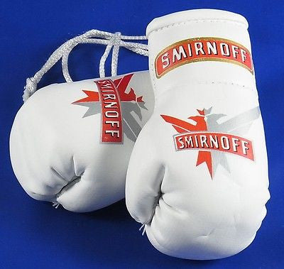 Smirnoff  Mini Boxing Gloves  Ideal for rear view mirror or end of bar