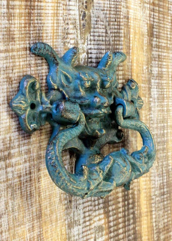 Cast Iron Gargoyle door Knocker