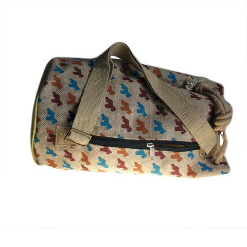 Scottie dog duffel bag travel duffle