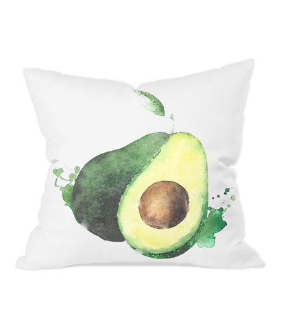 Throw Cushion in avocado
