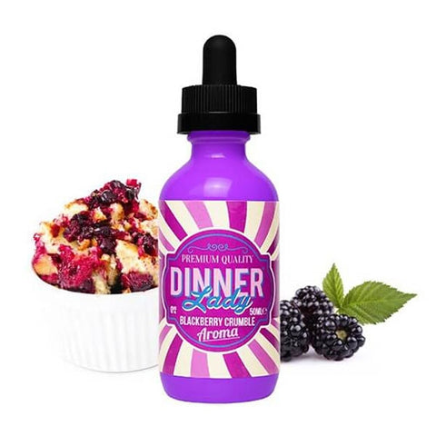 Dinner Lady 60ml (Blackberry Crumble)