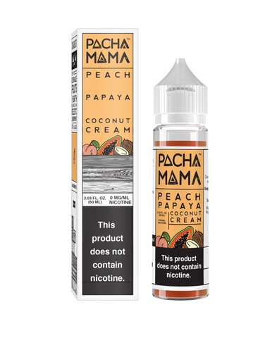 Pachamama 60ml (Peach, Papaya, Coconut Cream)