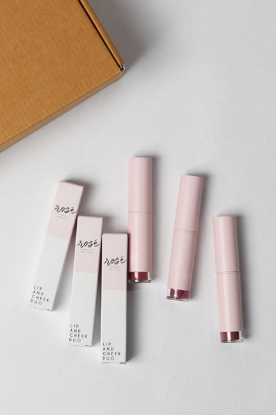 LIP + CHEEK DUO SET