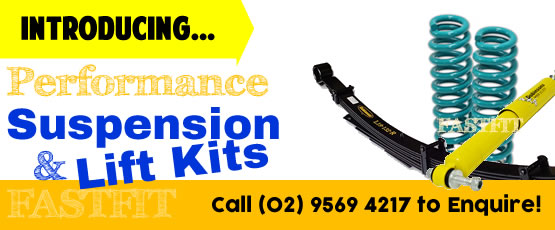 We install Suspension Systems
