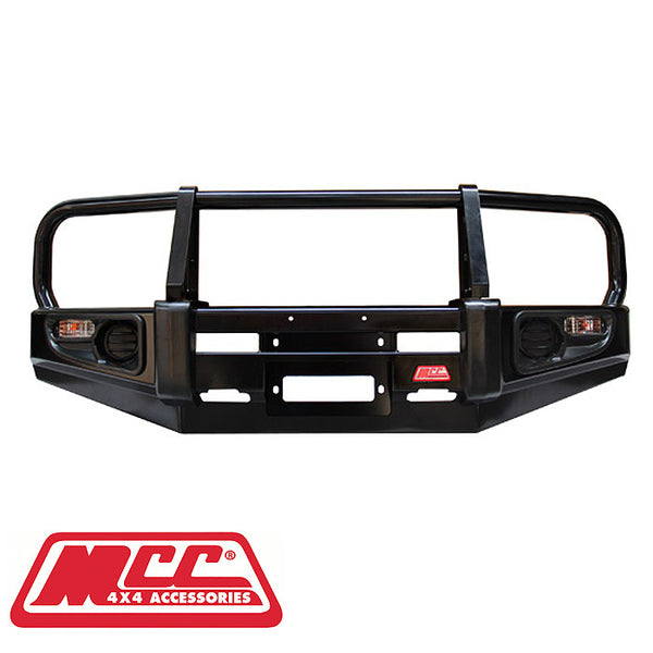 MCC 4x4 Commercial Classic Bull Bar To Suit Nissan Navara D40 - 2011 ON