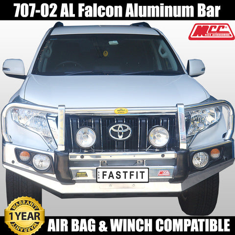 MCC4x4 707-02 AL Aluminium Falcon Bull Bar To Suit Toyota Prado 150 Series - 2010 ON