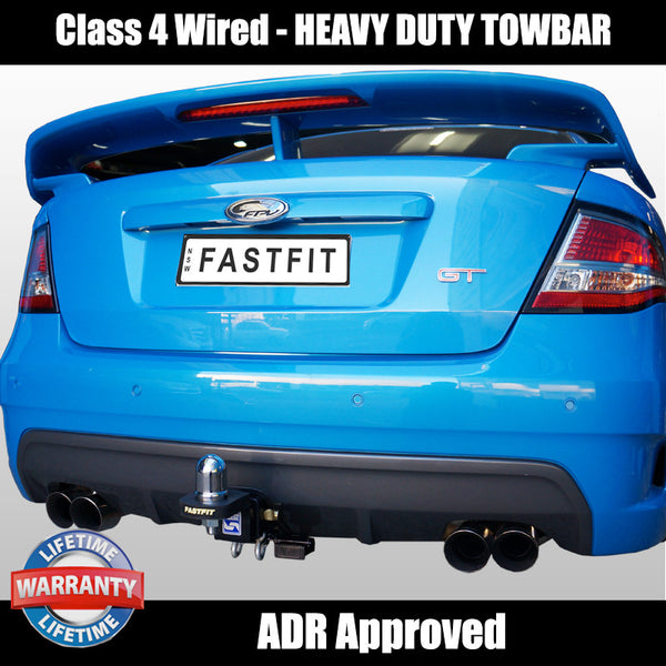 Hayman Reese Heavy Duty Towbar to Suit Ford Falcon FG Sedan including XR6, XR8, G6 and LPG models - 06/2008 ON
