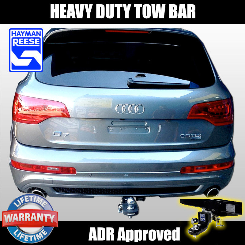 Hayman Reese Heavy Duty Hitch Tow Bar To Suit Audi Q7 01