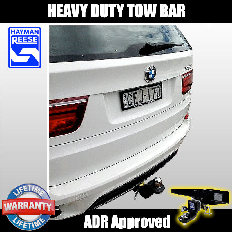 Hayman Reese Heavy Duty Tow Bar To Suit Bmw X5 E70 2011