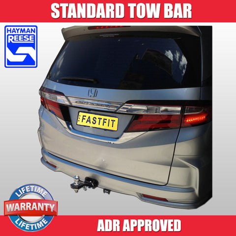 Hayman Reese Standard Tow Bar To Suit Honda Odyssey MY14 - 02/2014 ON