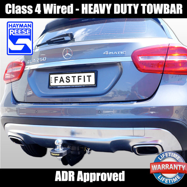 Hayman Reese Heavy Duty Towbar to suit Mercedes Benz GLA250 01/2015-ON