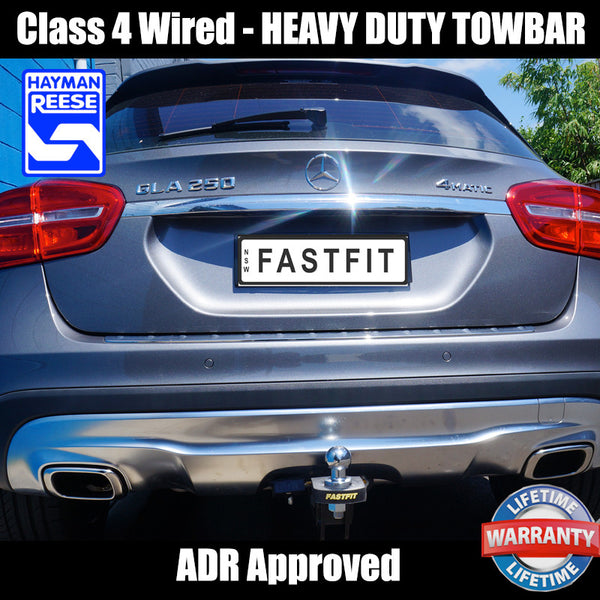 Hayman Reese Heavy Duty Towbar to suit Mercedes Benz GLA 250 01/2015-02/2020