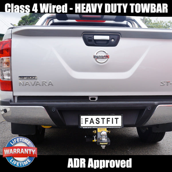 Hayman Reese Heavy Duty Towbar To Suit Nissan Navara NP300- 06/2015 ON