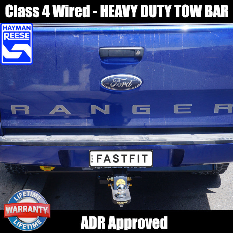 Hayman Reese Heavy Duty Towbar To Suit Ford Ranger 4d